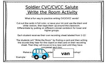 Veteran's Day Soldier Salute CVC