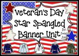 Veteran's Day-Star Spangled Banner Unit Plan