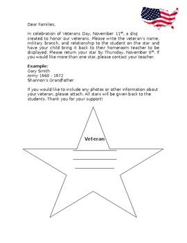 Veteran's Day Stars