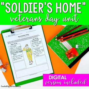 Veterans Day Reading & Writing Unit for Middle School & High School