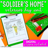 Veterans Day Reading & Writing Unit for Middle School & Hi