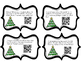 4th Grade Word Problem Task Cards with QR Codes (Division