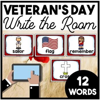 Veteran's Day Write the Room