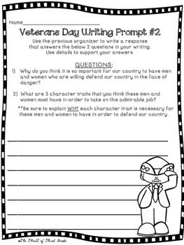 Veterans Day Writing