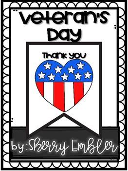 Veteran's Day Writing Banner