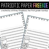 Letters to Veterans Writing Paper FREEBIE