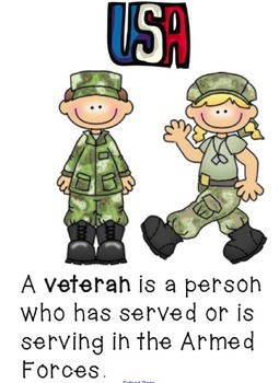 Veteran's Day and Heroes MiniUnit Smartboard Lessons
