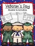 Veteran's Day & Remembrance Day - Booklet and Activities -