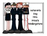 Veteran's Day book