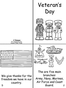 Veteran's Day book-English/ Spanish