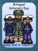 Veteran's Day book-English/ Spanish