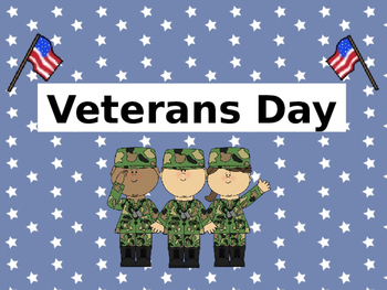 Veteran's Day for little learners