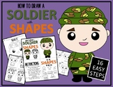 Veteran's & Memorial Day SOLDIER - Draw with Shapes