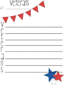 Veterans Acrostic