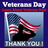 Veterans Day | 1st 2nd 3rd Grade | PowerPoint Power Point