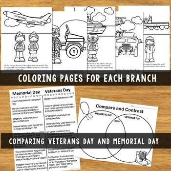 Veterans Day Printable Reader|Posters|Writing