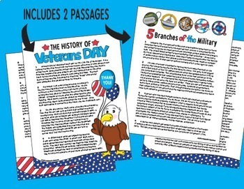 Veterans Day with Rigorous Writing & Close Reading