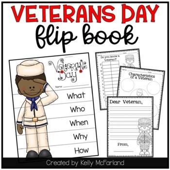 Veterans Day {Flip Book and Activities}