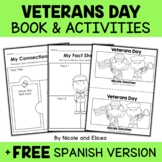 Mini Book and Activities - Veterans Day