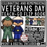 Veterans Day Activities Flip Book [Remembrance Day] Veterans Day Writing