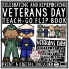 Thank You To - Veterans Day Activities Flip Book [Remembrance Day]