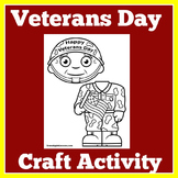 Veterans Day Craft | Activity