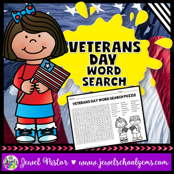 Veterans Day Activities (Veterans Day Word Search)