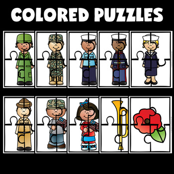 Veterans Day Crafts (Puzzles)