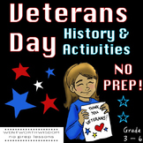 Veterans Day Activities Veterans Day Writing Veterans Day Reading