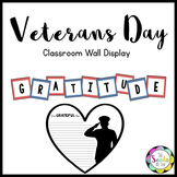 Veterans Day Wall Display
