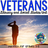 Veterans Day Unit for 3rd 4th 5th grades