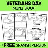 Veterans Day Book Activity