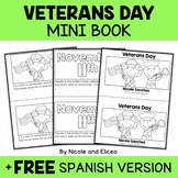 Veterans Day Book Activity