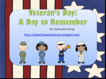 Veteran's Day: A Day to Remember