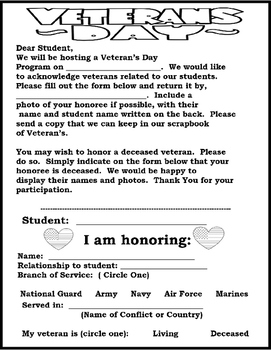 Veterans Day - A Tribute to Veterans Play