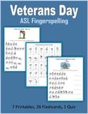 Veterans Day (ASL Fingerspelling)