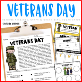 Veterans Day and Memorial Day Unit