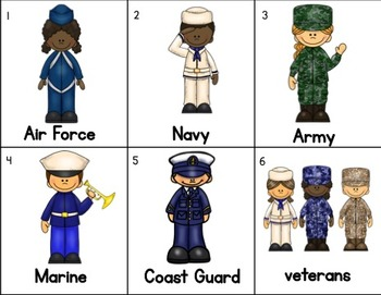 Veterans Day Activity for Kindergarten