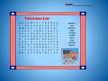 Veterans Day Activities
