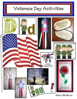 Veterans Day Math & Literacy Activities