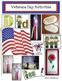 Veterans Day Math & Literacy Activities and Crafts