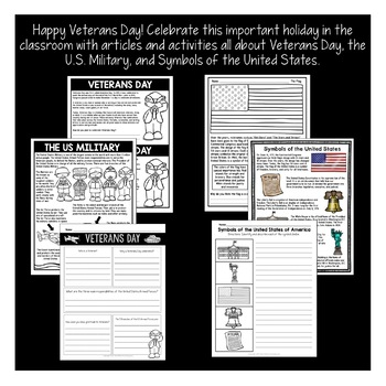 Veterans Day Activities and Write a Thank You Letter to a Soldier