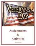 Veterans Day Activities (Middle / Junior High School)
