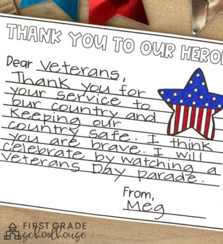 Veterans Day Activities and Craft