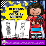 Veterans Day Math PreK, Kindergarten and 1st Grade (Vetera