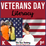 Veterans Day Activities and Emergent Readers Kindergarten