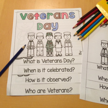 Veterans Day- Activities and Printables