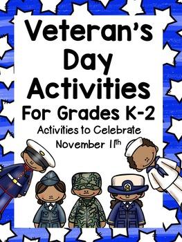 Veteran's Day Activities for K-2