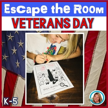 Veterans Day Activity ESCAPE ROOM