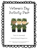 Veteran's Day Activity Pack